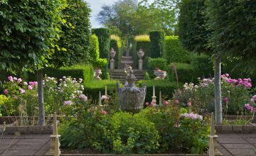 Sir Roy Strong's Laskett Gardens and Kentchurch Manor Gardens, Hereford