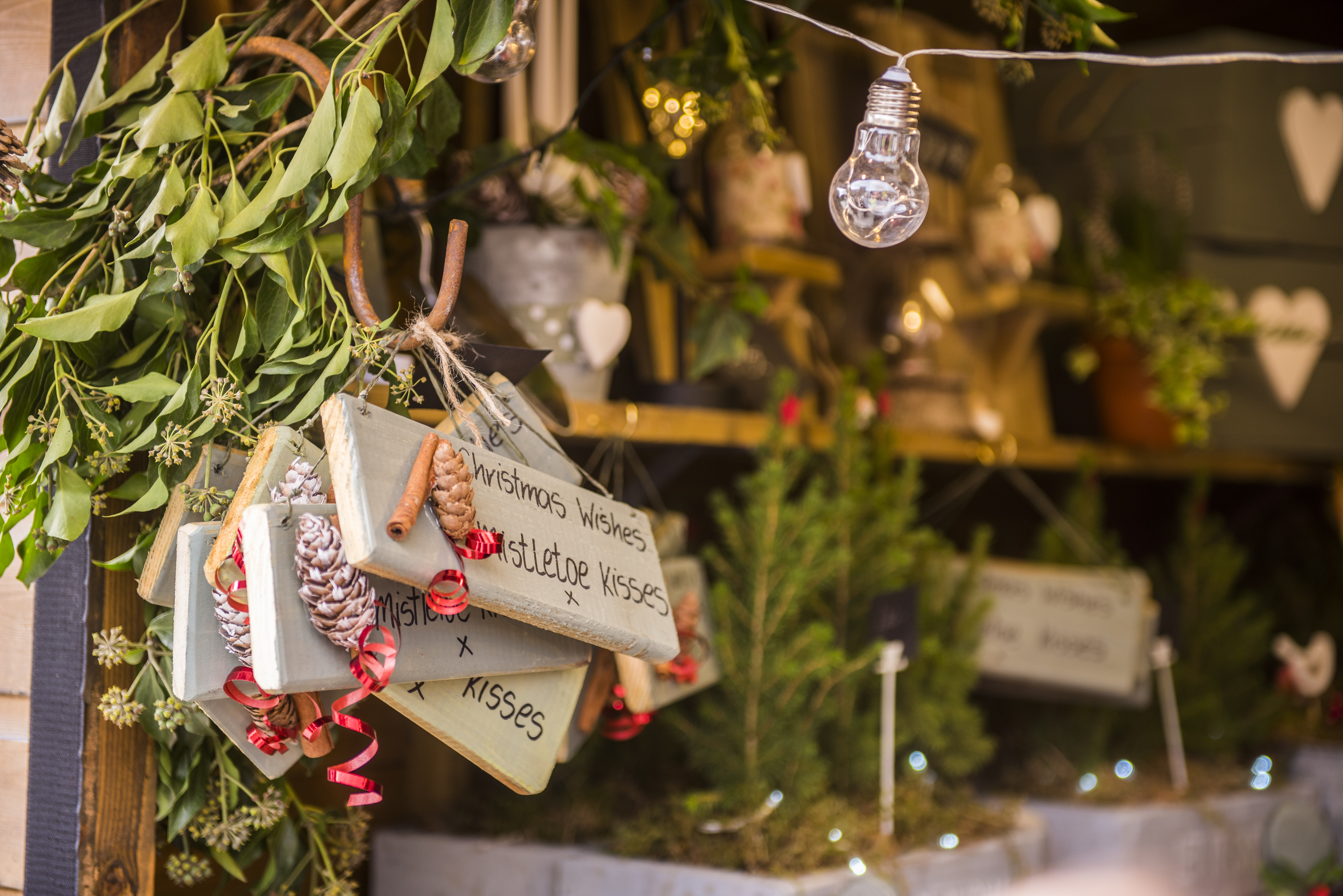 Chatsworth House and Markets for Christmas