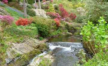 Bodnant Gardens, Colwyn Bay and optional time in Llandudno