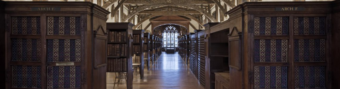 GUIDED TOUR OF THE BODLEIAN LIBRARIES OR A DAY IN OXFORD